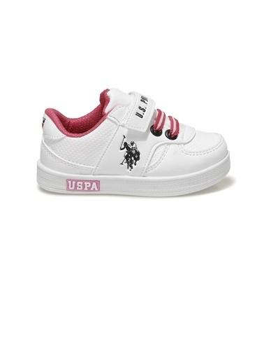 U.S. Polo Assn. Us. Polo Assn. Cameron Çocuk Sneaker 100909745 100909745015 Beyaz
